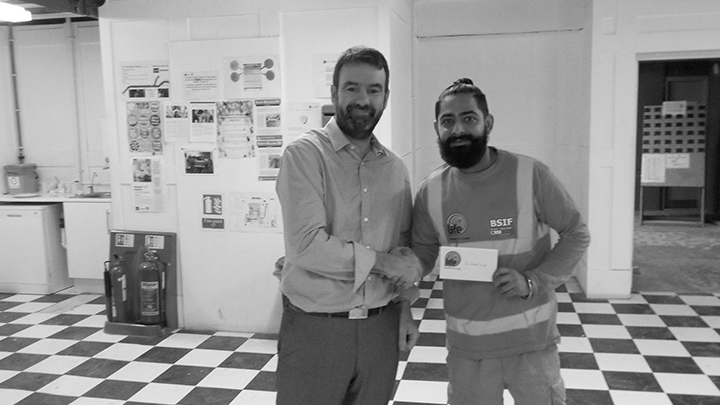 Congratulations to Kuldeep Singh for winning this months Best Practice Award