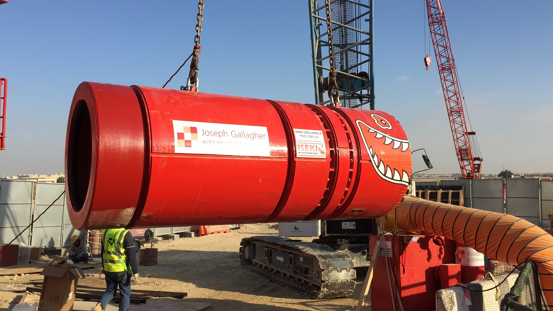 Microtunnelling machine begins 25km Abu Dhabi journey