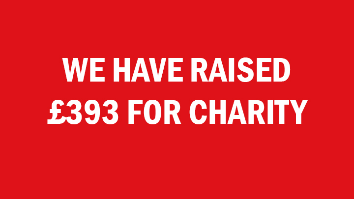 We've raised £393 for Charity with our Observation Cards!