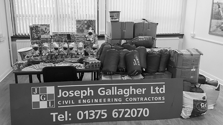 The Joseph Gallagher Group raises vital funds for the homeless and children