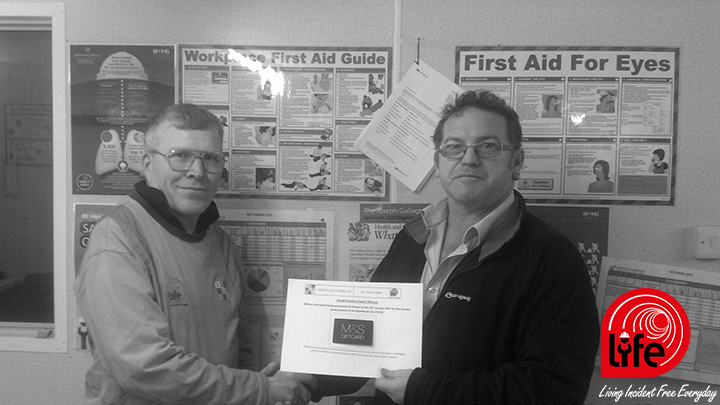 Best Practice Award Presented at Brentknoll