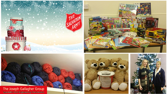 Vital funds raised for The Salvation Army Christmas Present Appeal
