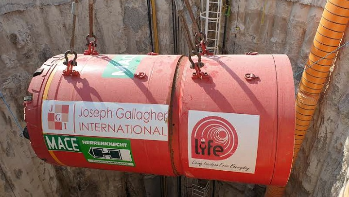 Joseph Gallagher completes new pipeline for Abu Dhabi Sewerage Services Company